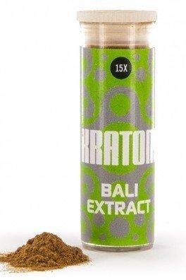 Kratom Bali 15x Extract (Mitragyna speciosa), 3 gram