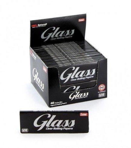 Transparante Vloei Glass King Size