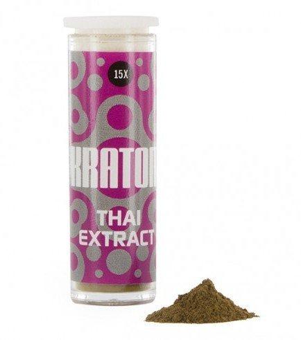 Kratom Thai 15x Extract (Mitragyna speciosa),1 gram