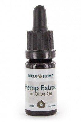 Medihemp CBD-enriched Olive Oil (6% CBD + CBDA)