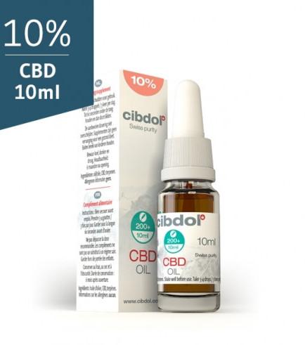 Cibdol CBD Olie (10% CBD)
