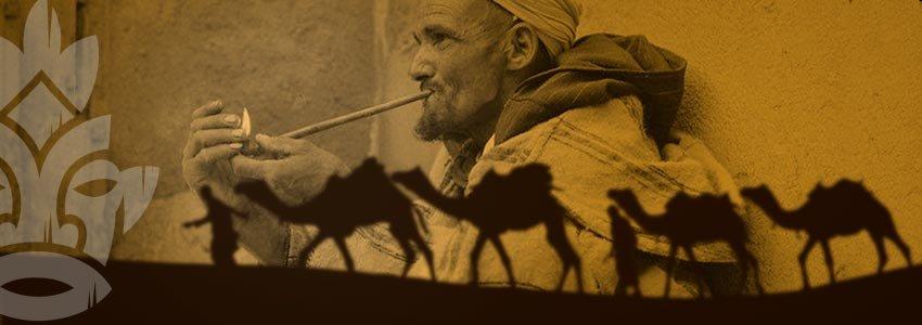 Sebsi pijp Marokko