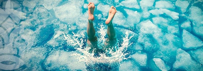 Probeer Koud-watertherapie