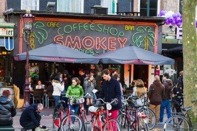 Coffeeshops in Nederland verkopen voor een biljoen Euro per jaar aan wiet