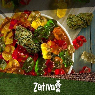 Koken met cannabis: Ganja gummiberen