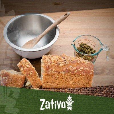 Bakken met cannabis: Cannabis-bananenbrood